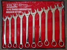 Metric Full Polish 10 pc Jumbo Large Wrench Set Extreme Torque 34 - 50 mm 36mm