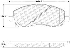 Ceramic Disc Brake Pad Set-Rear Drum Front Centric 103.08660