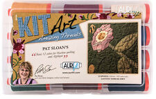 AURIFIL THREAD ASSORTMENT PAT SLOAN'S BASIC SET 12 SPOOLS 50 WT COTTON
