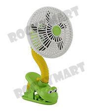 "O2 COOL 4"" Clip Fan - FROG RM3245"