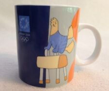 Aohna 2004 Athens Olympic Mug Greece Efsimon Collection