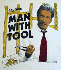 "Vintage 90's Home Improvement ""Tim Taylor� Tool Time T Shirt Tim Allen Tv Show"