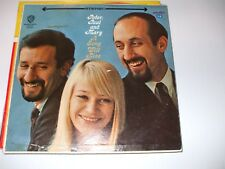 Peter Paul And Mary A Song Will Rise LP Album
