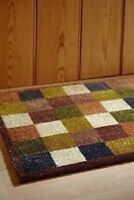 Muddle Mat From The Home of Hug Rug 50x150cm (CHECK 1 RUNNER) Door Mat Washable