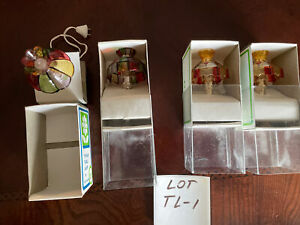 dollhouse miniatures lot 1:12, Electric Tiffany Lamps, Vintage, New