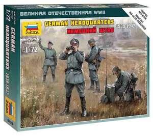 Zvezda Z6133 - 1/72 Figures German Headquarters 1939 - 1942