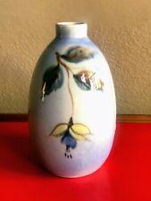 New ListingVon Tury ( Vontury) Vtg Porcelain Ceramic Art Pottery Vase Floral Glaze Design