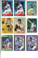 Lot 2 of (46) Greg Maddux Cards w/ Rookies RC and Inserts MLB Chicago Cubs