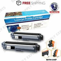2PK for TN223 TN223BK Toner for Brother MFC L3770cdw L3750cdw L3270cdw with Chip