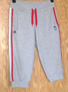 Ladies, Team GB, Adidas, Grey, Long, Capri, Peddal Pushers, 2012 Olympics, UK 8