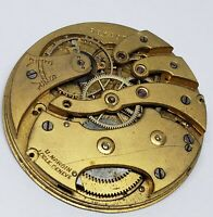 Vintage   Ulysse Nardin Pocket Watch Movement for parts or to repair