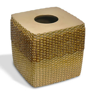 Tissue Box Cover- Bronze Popular Bath Chateau Bathroom Collection