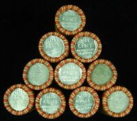 1x Roll Wheat Cents 1943 Steel Cent on End Pennies Penny Old US Coins Lot