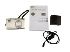 Nikon COOLPIX A300 20.1MP Digital Point & Shoot Camera Silver + 8Gb card