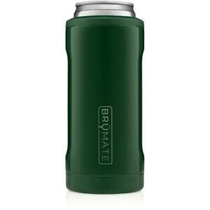 Brumate Hopsulator Slim Can Cooler Tumbler 12 oz Drink Holder Emerald Green
