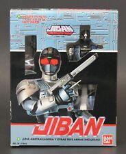 "1989 Bandai Jiban sentai space sheriff 6"" JIBAN die cast action figure MISB NEW"