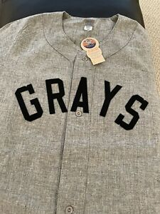Ebbets Field Flannels Homestead Grays Jersey Size L New