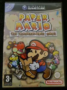 Paper Mario - The Thousand-Year Door - GameCube PAL complete