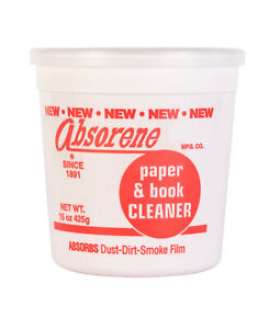 ABSORENE PAPER AND BOOK CLEANER - 425g