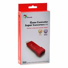 Brook Cross Console PS4 PS3 to Xbox One Gaming Converter Controller Adapter Red