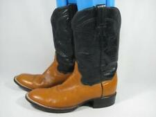 Vintage Panhandle Slim Roper Cowboy Boot Men size 7.5 D