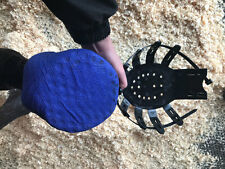 Vet-Strider (Equine Poultice Boot and Hoof Protector) Large/Black + 10 Ties