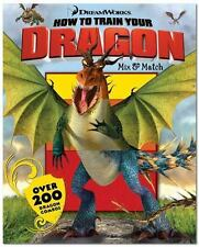 How to Train Your Dragon Mix & Match, Dreamworks & David Roe Book