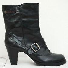 Wie neu! ☀ REPLAY ☀ Stiefel Gr. 38 Damen Schwarz Boots Scarpe Schuhe