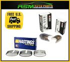 Fits to Corolla 88-92 1.6L 4AF 4AFE Hastings Pistons Rings Rod Main Bearings