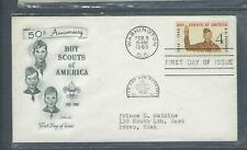 VEGAS - 1960 Boy Scouts of America First Day Cover - Sc# 1145  - FK153