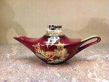 Vtg Carlton Ware, Aladdin Style Cigarette Lighter Made In England Gift Quality