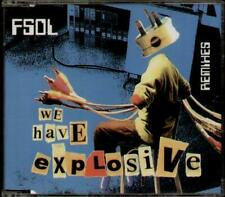 FUTURE SOUND OF LONDON We Have Explosive Remixes  CD 4 Tracks, 7 Inch Edit/Oil F