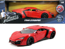 Lykan Hypersport rot Fast & Furious 7 in 1:18 Jada Toys 97388 red