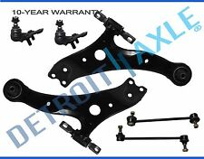 Avalon Highlander RX300 6pc Front Lower Control Arm Set & Ball Joints Sway Bars