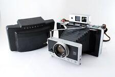 "Rare ""EXC +3"" Polaroid 190 Land Camera Tominon 114mm f3.8 Zeiss IKON Japan 5831"
