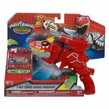 Power Rangers DX Dino super charge T-rex Morpher BRAND NEW with 2 chargers