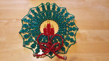 "Bead Kit *NEW* 11.5"" Diameter Christmas Wreath Bead Craft Kit Custom Design"