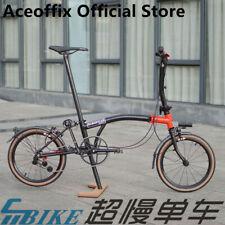 ACE/9.8kg 16 inch aceofix Brompton folding bike 3speed