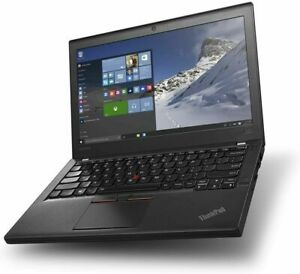 Lenovo ThinkPad X260 Laptop i7-6600u @ 2.60GHz 16GB 256GB SSD WIN 10 PRO 12.5""