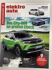 elektro auto mobil Magazin - Ausgabe 4/2021 NEU-Opel Mokka-e ,Honda e , Audi Q4e