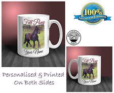 Fell Pony Personalised Ceramic Mug: Perfect Gift. (HR29)