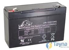 Leoch LP6-12 6V 12Ah Sealed Batterij