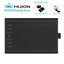 HUION New 1060Plus 8192 Pressure Digital Graphics Drawing Tablet for Windows Mac