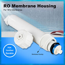 MS® 1812 Reverse Osmosis Membrane Housing (White) for 50/75/100 GPD RO Membranes