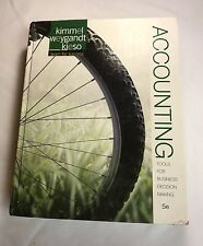 Accounting Tools For Business Decision Making 5e Kimmel Weygant Kieso 2013