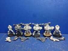 6 deathguard havocs con armi speciali della caos Space Marine del metallo
