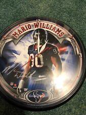 Mario Williams Houston Texans Clock
