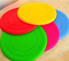 Silicone Dog Frisbee Toy Training Exercising Throwing Flying/Disc Fetch Toy