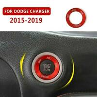 For Dodge Charger 2015-2019 Aluminum Start Stop Button Cover Trim Engine Switch