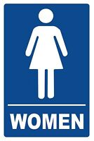 WOMEN - BATHROOM - SIGN- #PS-451